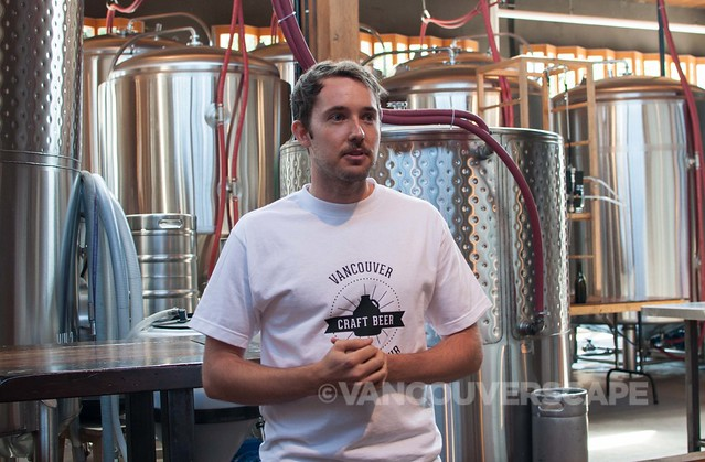 Nick at Postmark Brewery