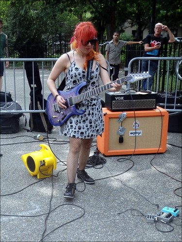Tompkins Square Park Punk/Rock Show 26th July 2014