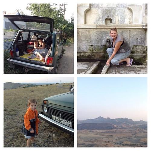 Кто из вас умеет правильно путешествовать на автомобиле Нива? При помощи него можно попасть в параллельный мир, где нет людей, и только древности и вечная крымская природа))) #старыйкрым  #крым