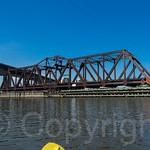 DB Draw Railroad Bridge over the Hackensack River, New Jersey