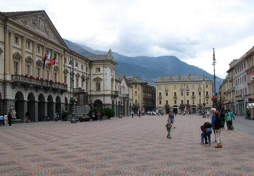 Aostas centrs