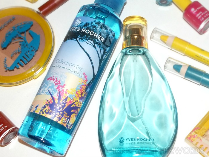 yves rocher 2014 summer collection eau de toilette and shower gel