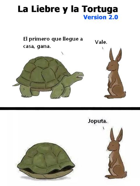 la liebre y la tortuga 2.0