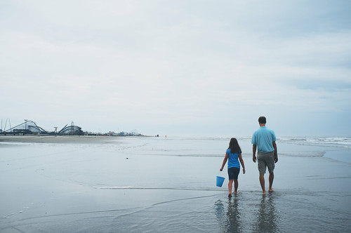 Last beach walk.