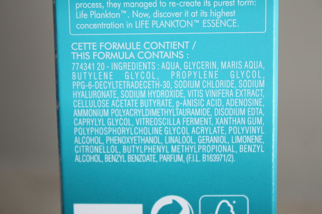 biotherm life plankton essence ingredients