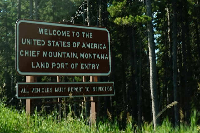 Welcome to the United States of America - Chief Mountain
