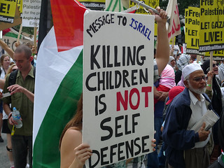Rally and March for Gaza 8/2/14