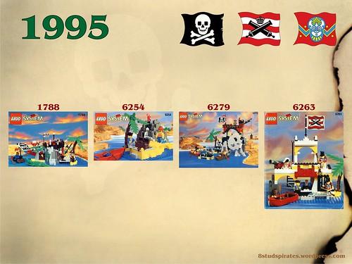LEGO Pirates Timeline 1995