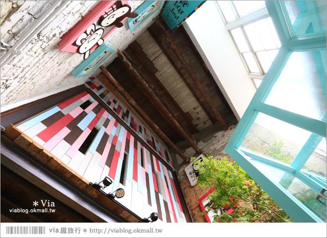 【阿朗基咖啡】台南店開幕囉!台南老屋餐廳推薦~老屋改造+可愛療癒系的新餐廳4