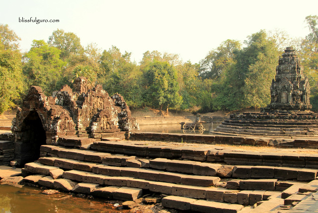 Siem Reap Cambodia Neak Pean Temple