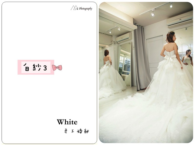 WHITE  白紗3-2