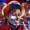 Happy B-lated MJ .. PEACE... #michaeljackson #timesquare #chorboogie #asics