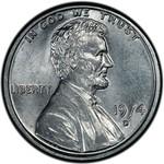 1974-D aluminum cent obverse