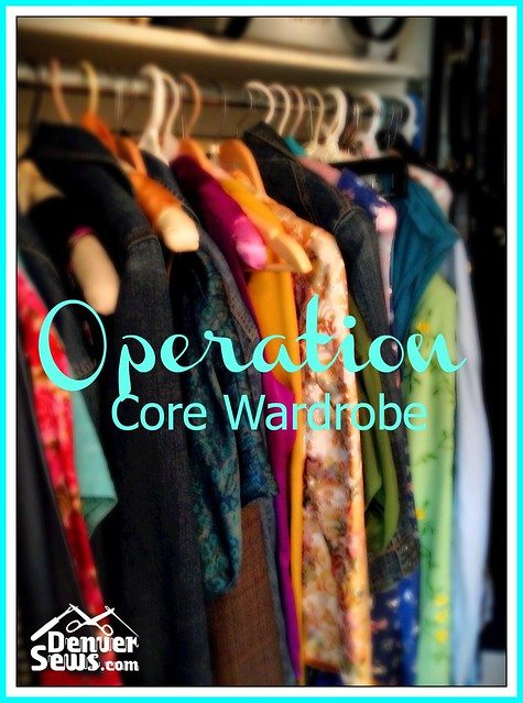 operation core wardrobe Denver Sews