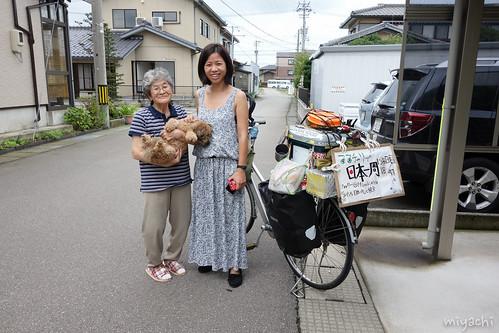 【138日目】福井へ!自転車のタイヤ交換(石川‐福井)