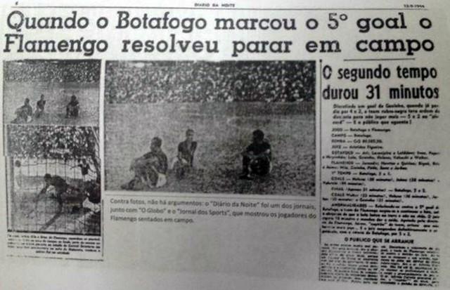 Botafogo 5 x 2 Flamengo - O