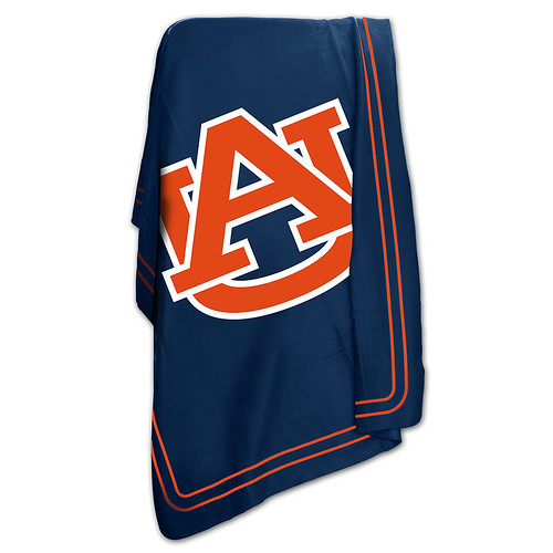 Auburn Tigers NCAA Classic Fleece Throw