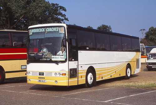 Hampton Court Flower Show coaches - circa 1996