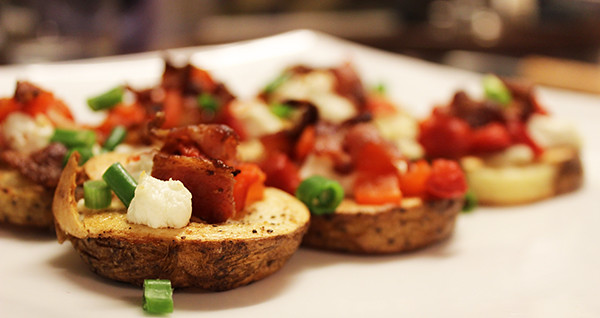 potato-crostini
