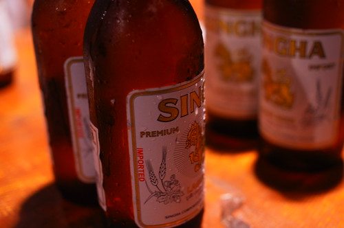 SHINGHA beer bottle