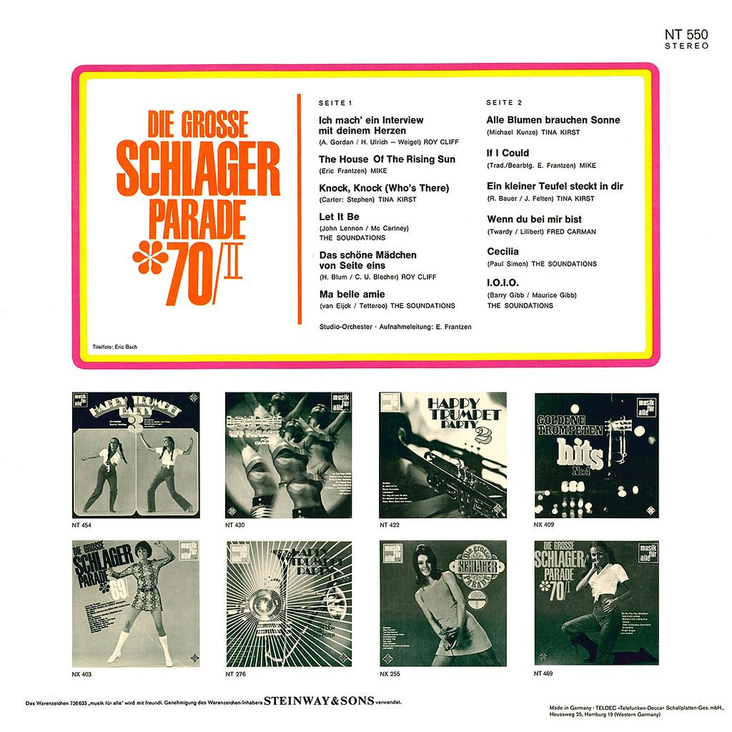Various Artists - Die Grosse Schlager Parade '70/II