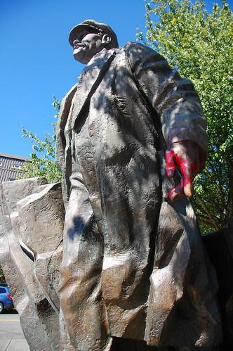 Lenin statue Fremont Seattle