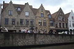 a bookshop in Bruges