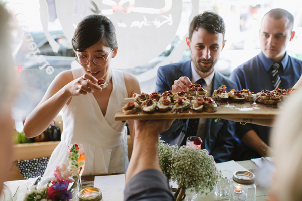 Celine Kim Photography intimate High Park Parkdale restaurant wedding Toronto wedding EM-48