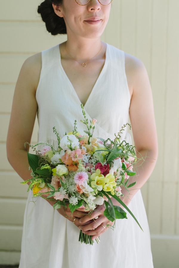 Celine Kim Photography intimate High Park Parkdale restaurant wedding Toronto wedding EM-27