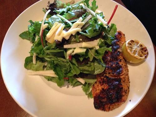 IMG_4172 salmon and salad at Seasons 52