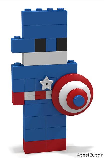 LEGO Life of George - Captain America
