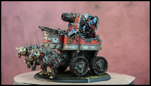 Trollblood War Wagon