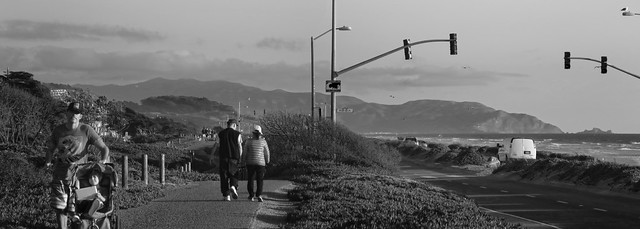 Great Highway, Ocean Beach, San Francisco (2014)