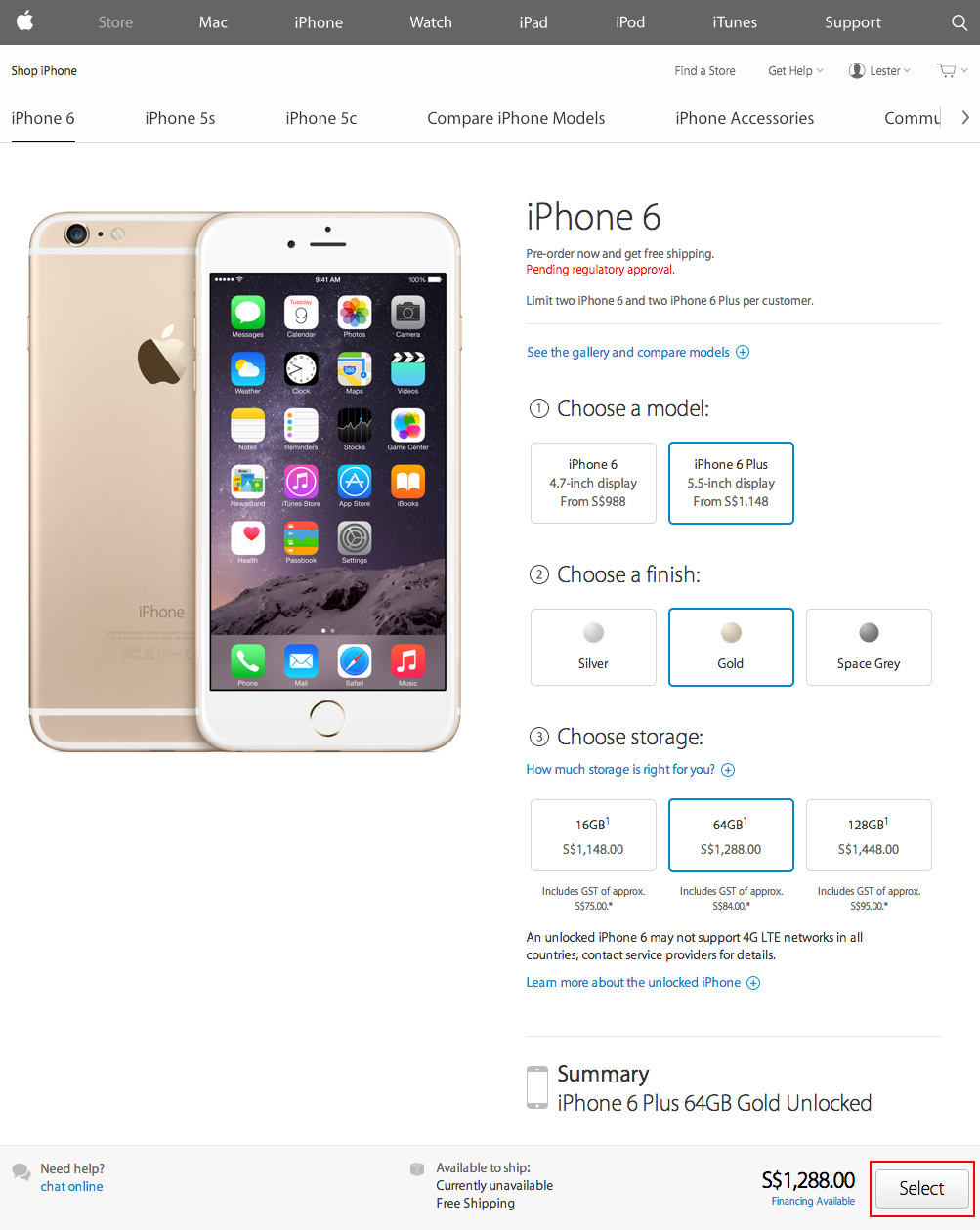 Giveaway iphone 6s price 64gb