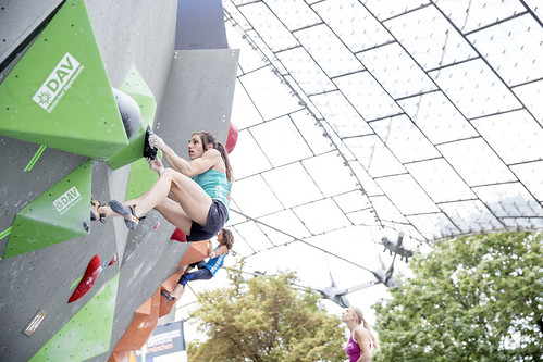 Qualifications of the IFSC Boulder World Championship in Munich 2014
