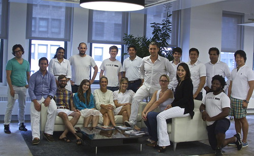 #gilttech wears white after Labor Day (2014)
