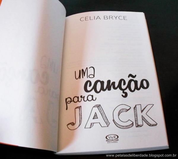 Livro Uma canção para Jack - Celia Bryce
