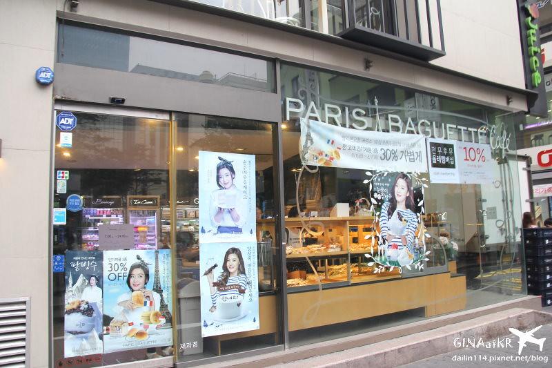 【韓國麵包店】PARIS BAGUETTE|牛奶蛋糕 |파리바게뜨、巴黎貝鐵-全智賢代言之千頌依蛋糕 @GINA環球旅行生活|不會韓文也可以去韓國 🇹🇼
