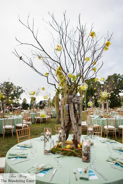 Beautiful table setting