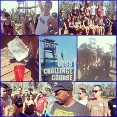 SILC/UCEN/CSI #teambuilding day at the Challenge Course! #leadership #silclyfe #silclove #getinvolved #lovewhatwedo even though it's #hot out here the #teamwork is still #strong! #lovewhatido #GraceontheGo