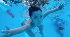 Anya Swimming