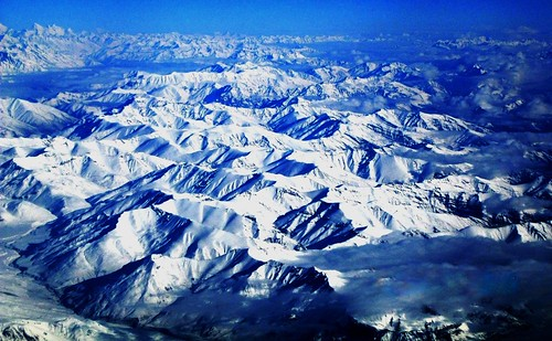 india snow mountains ice plane kashmir leh ladakh mounatin