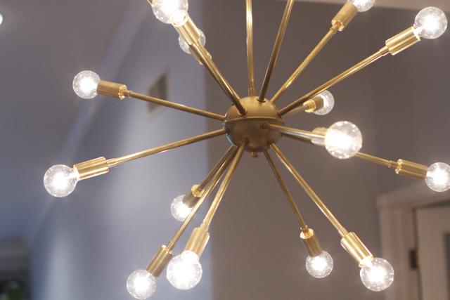 lucent lightshop brass sputnik chandelier