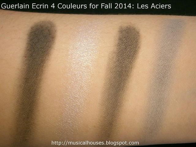 Guerlain Ecrin 4 Couleurs for Fall 2014 Les Aciers