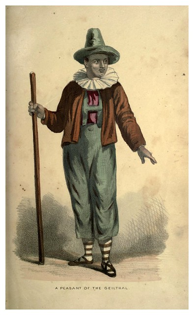 005- Campesino de Geilthal-Select historical costumes compiled from the most reliable sources -1868