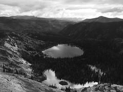 Big Lake, below Mosquito Peak in the Rattlesnake Wilderness