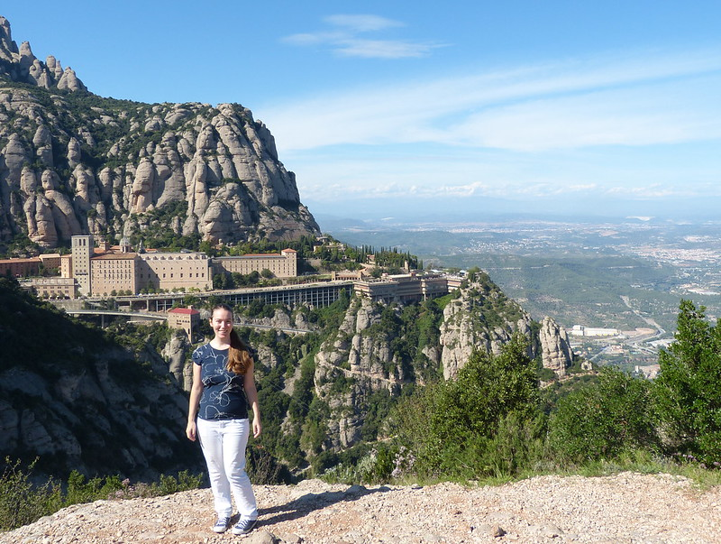 Looking happy, Montserrat