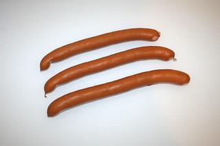 14 - Zutat Wiener Würstchen / Ingredient vienna sausages