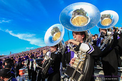 Super Sousas ::     The Northwestern University 'Wildcat' Marching Band performs at Ryan Field as Wildcat Football hosts California on August 30, 2014.  Photo by Daniel M. Reck '08 MSEd.