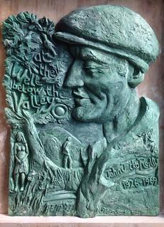 John Reilly plaque